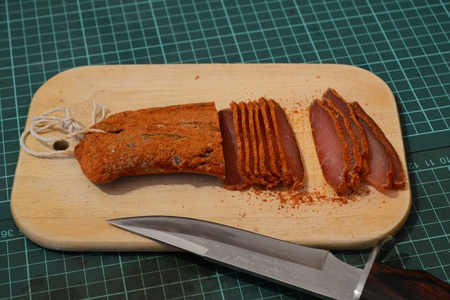 how to preserve meat with salt - jerky