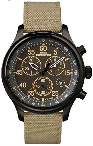 Timex Men's Expedition Field Chronograph Watch - The Skilled Survivor