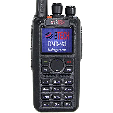 BTECH DMR-6X2 Dual Band Ham Radio With GPS & Recording