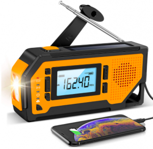 Aiworth Emergency Solar Hand Crank Radio - The Skilled Survivor