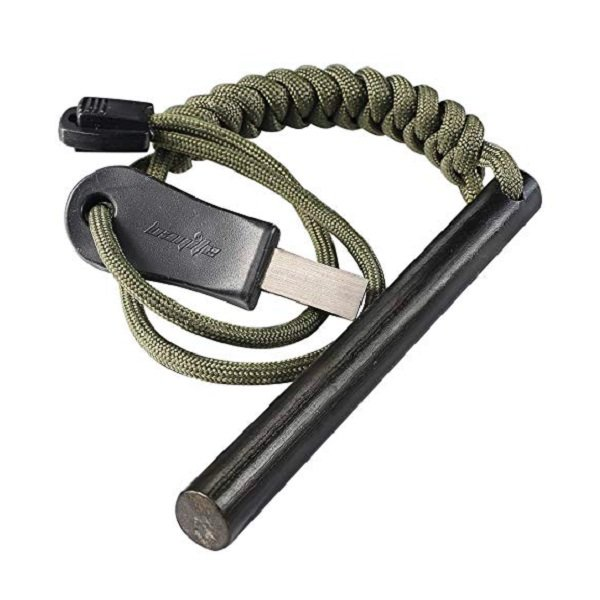 Bayite Survival Fire Starter With Paracord - The Skilled Survivor