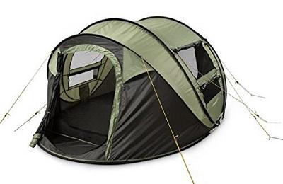 Pop-up tent - The Skilled Survivor