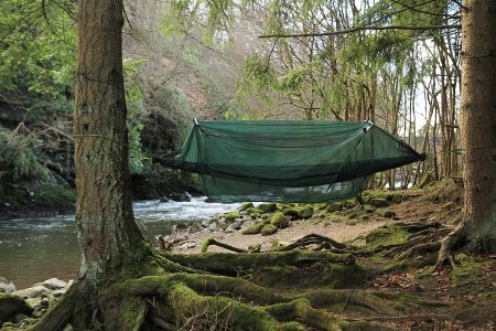 Camping Hammock With Mosquito Net - The Skilled Survivor