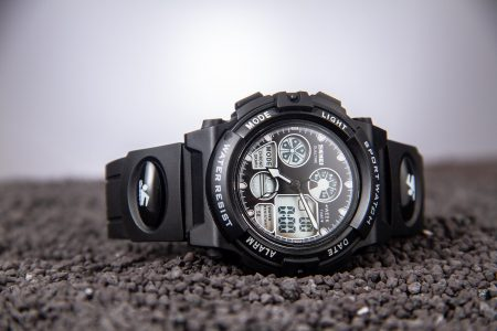 Survival watch laying on its side - The Skilled Survivor